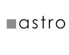 ასტროს ლოგო შავ-თეთრი