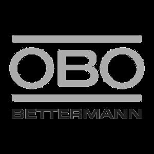 ობო ბეტერმანის ლოგო შავ-თეთრი