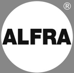 Alfra Logo Grayscale